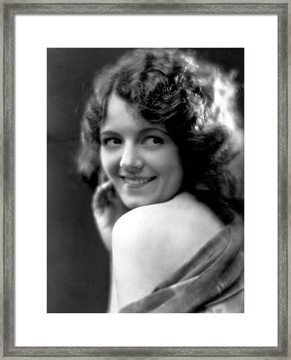Janet Gaynor, Fox Film Corp, 1920s Framed Print by Everett