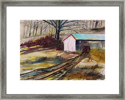 January Thaw Framed Print by John Williams