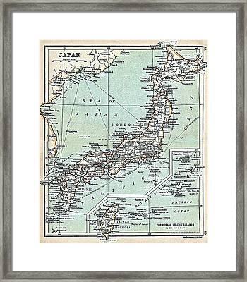 Japan - Formosa - Riu Kiu Framed Print by Pg Reproductions