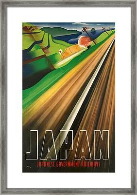 Japan Framed Print by Georgia Fowler