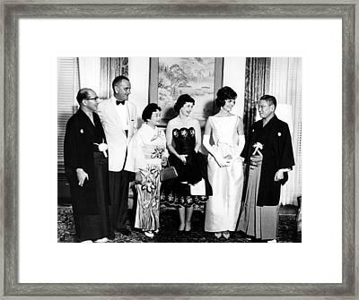 Japanese Foreign Minister Zentaro Framed Print by Everett