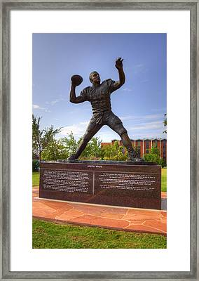 Jason White Framed Print by Ricky Barnard