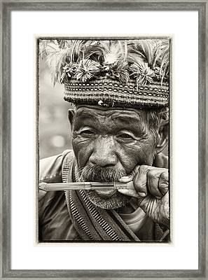 Jaw Harp Framed Print by Skip Nall