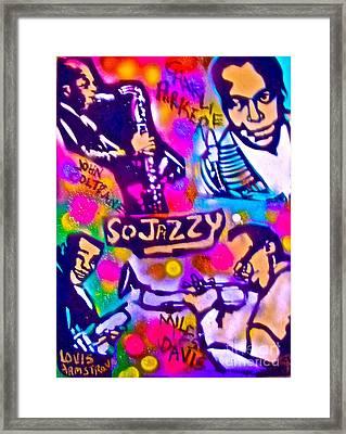 Jazz 4 All Framed Print by Tony B Conscious