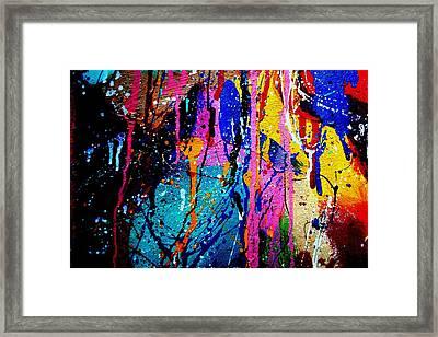 Jazz Process 53 Framed Print by John  Nolan