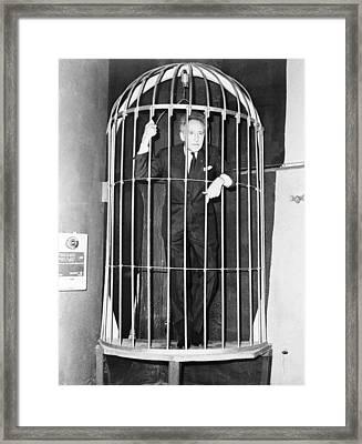 Jean Cocteau 1889-1963, Inside A Huge Framed Print by Everett
