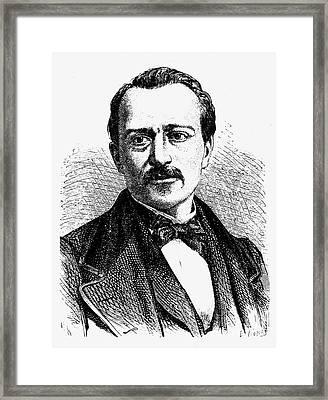 Jean Joseph Etienne Lenoir Framed Print by Granger