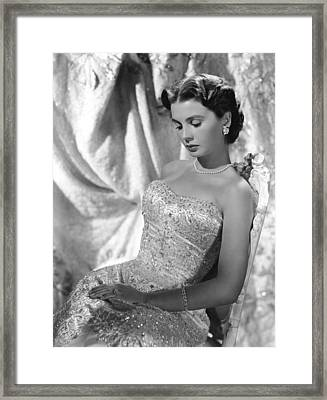 Jean Simmons Framed Print by Everett
