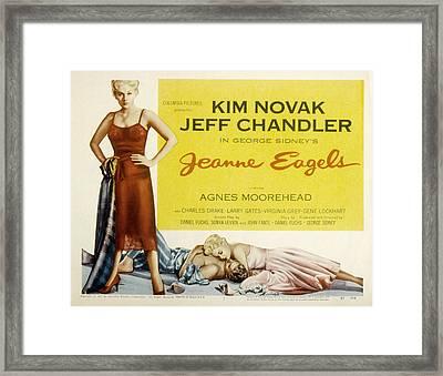 Jeanne Eagels, Kim Novak, Jeff Framed Print by Everett