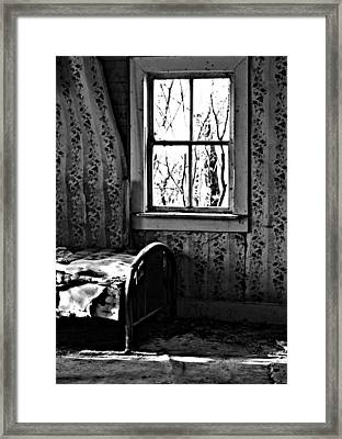 Jennys Room Framed Print by JC Photography and Art