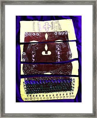 Jesus - Yesu Framed Print by Gloria Ssali