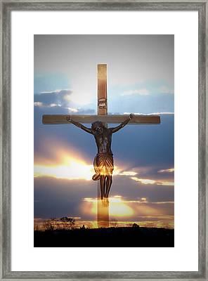 Jesus Framed Print by Bill Cannon