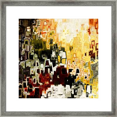 Jesus Christ A Man Of Sorrows Framed Print by Mark Lawrence