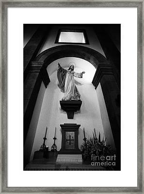 Jesus Christ Framed Print by Gaspar Avila