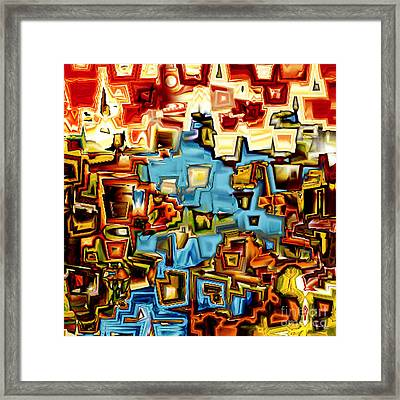 Jesus Christ The Messenger Of The Covenant Framed Print by Mark Lawrence