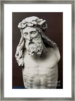 Jesus: Crucifixion Framed Print by Granger