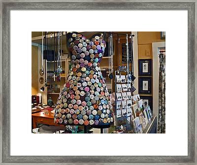 Jewelry Shoppe Framed Print by Pamela Patch