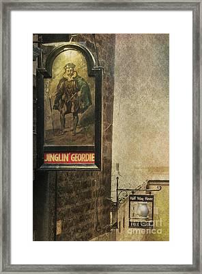 Jinglin' Geordie Framed Print by Marion Galt
