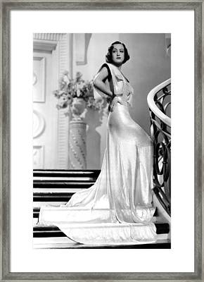 Joan Crawford, 1930s Framed Print by Everett