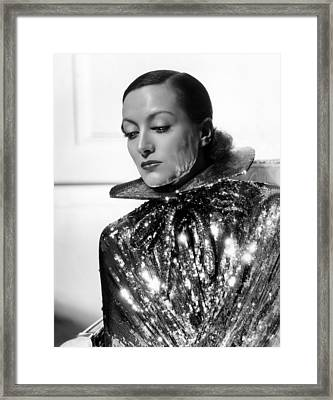 Joan Crawford, 1934, Photo By Hurrell Framed Print by Everett