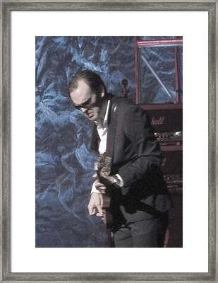 Joe Bonamassa Framed Print by Todd Sherlock