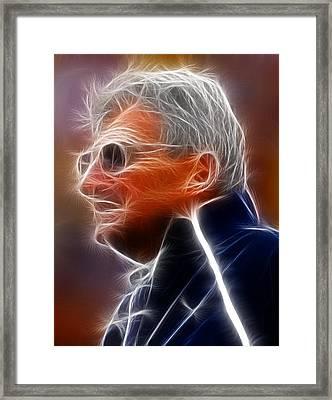 Joe Paterno Framed Print by Paul Van Scott