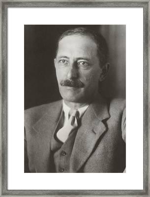 Joel Elias Spingarn 1875-1939, Jewish Framed Print by Everett