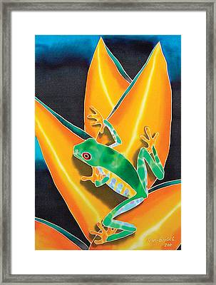 Joe's Treefrog Framed Print by Daniel Jean-Baptiste