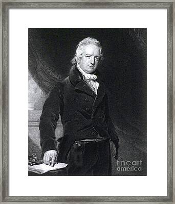 John Abernethy, English Surgeon Framed Print by Science Source