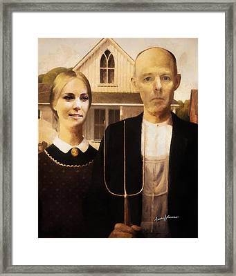 John And Kate Plus Eight Framed Print by Anthony Caruso