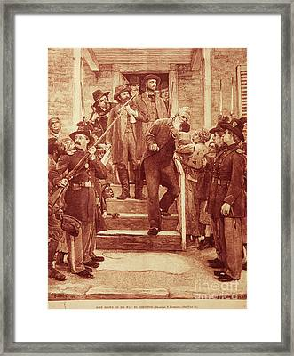 John Brown: Execution Framed Print by Granger