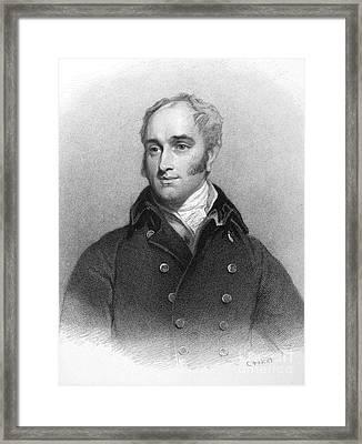 John Croker (1780-1857) Framed Print by Granger
