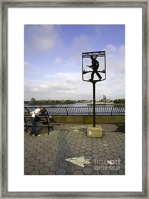 John Finley Walk 1v Framed Print by Madeline Ellis