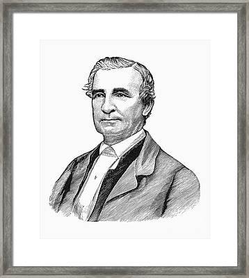 John Hunn (1818-1894) Framed Print by Granger