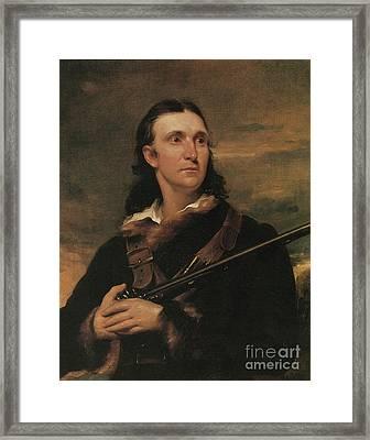 John James Audubon, French-american Framed Print by Photo Researchers