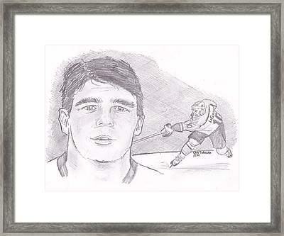 John Leclair Framed Print by Chris  DelVecchio