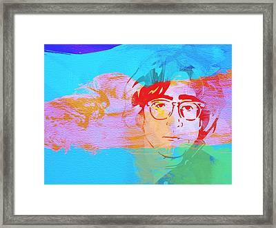 John Lennon Framed Print by Naxart Studio