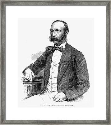 John S. Rarey (1828-1866) Framed Print by Granger