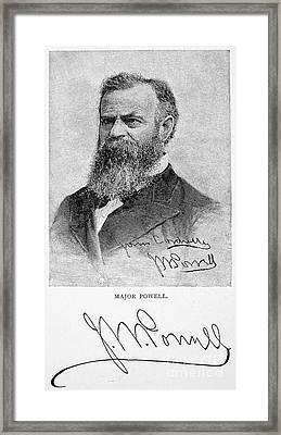 John Wesley Powell Framed Print by Granger