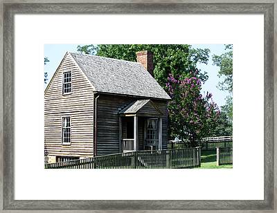Jones Law Office Appomattox Court House Virginia Framed Print by Teresa Mucha