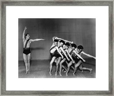 Jooss Leeder Ballet Framed Print by Sasha