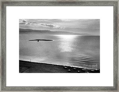 Jordan: Dead Sea, 1961 Framed Print by Granger