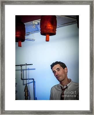 Jordan Mcclean Of Droid Framed Print by Jim DeLillo