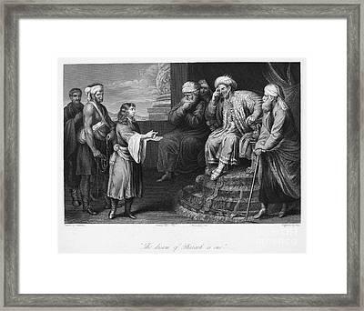 Joseph Interpreting Dream Framed Print by Granger
