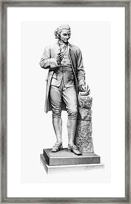 Joseph Priestley (1733-1804) Framed Print by Granger