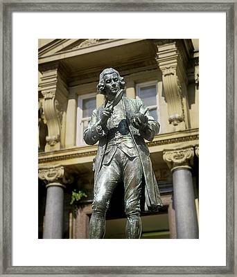 Joseph Priestley, British Chemist Framed Print by Martin Bond
