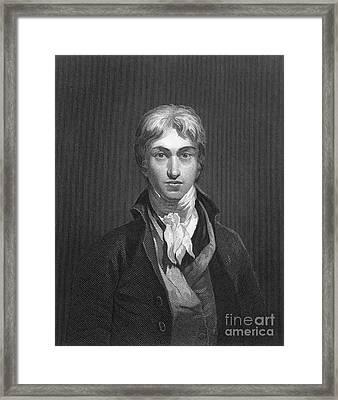 Joseph Turner (1775-1851) Framed Print by Granger
