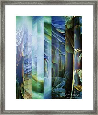 Journey Inward 1 Framed Print by Brigetta  Margarietta
