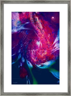 Journeys Of The Heart Framed Print by Linda Sannuti