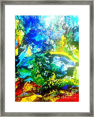 Joy Framed Print by Pauli Hyvonen